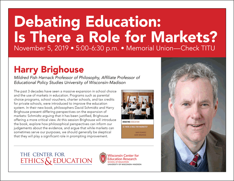 Debating Education: Is There a Role for Markets?